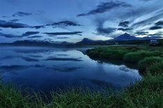 #Blue #MidnightSun #Iceland © Massimiliano Pardini