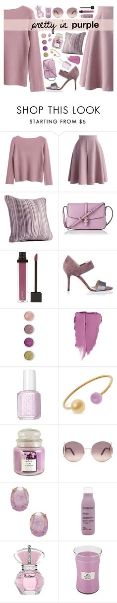 """Pretty in Purple!"" by elissanoblitt ❤ liked on Polyvore featuring Chicnova Fashion, Chicwish, Simply Vera, L.K.Bennett, Jouer, Jimmy Choo, Terre Mère, Essie, Michael Kors and Hallmark"