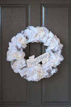 me oh my!: DIY: Felt Wreath