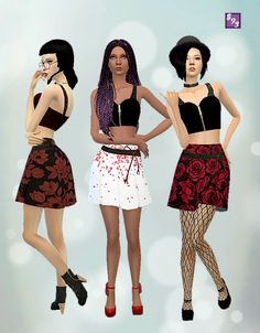 Rose Outfit by Shenice93 at The Stories Sims Tell via Sims 4 Updates