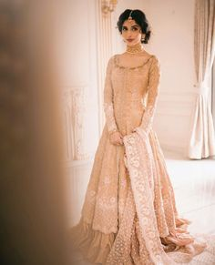 """Farah Talib Aziz on Instagram: """"Trust in dreams, for in them is the hidden gate to eternity. -Khalil Gibran  In the days of yore, the stately brides of the subcontinent…"""" Pakistani Couture, Pakistani Bridal Dresses, Pakistani Dress Design, Pakistani Designers, Beautiful Dress Designs, Beautiful Dresses, Bridal Dress Design, Indian Wear, Designer Dresses"""