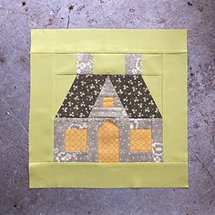 Spellbound Sew-along: week 1 House Quilt Patterns, House Quilt Block, House Quilts, Paper Piecing Patterns, Quilt Blocks, Sewing Patterns, Quilting Projects, Quilting Designs, Sewing Projects