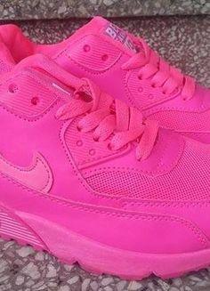 Kup mój przedmiot na #vintedpl http://www.vinted.pl/damskie-obuwie/inne-sporty/18154701-jaskrawo-rozowe-buty-ala-air-maxy