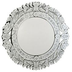 Beautiful Traditional Mirror on display