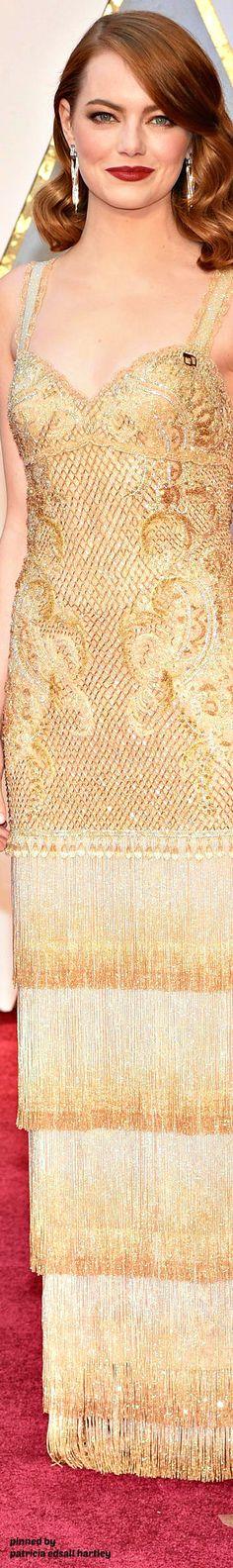 2017 Oscars. Academy Award Winner and one of the Best Dressed, Emma Stone. Follow rickysturn/amazing-women