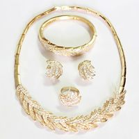 Find More Jewelry Sets Information about Dubai 18K gold plated