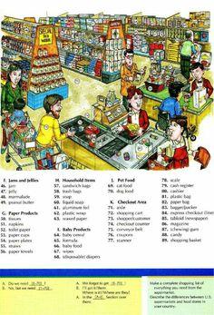 Ya se que compro en el supermercado de ....