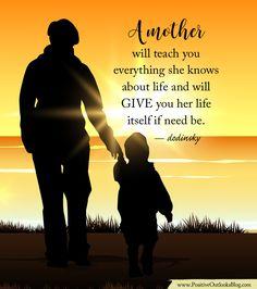 A mother will teach