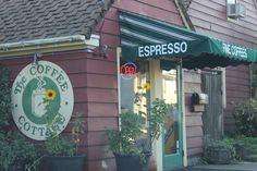 Cozy coffee shop in Newberg, Oregon