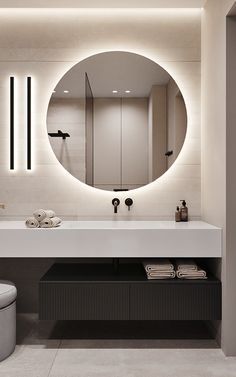 Washroom Design, Toilet Design, Bathroom Design Luxury, Modern Bathroom Design, Modern House Design, Modern Luxury Bathroom, Bathroom Lighting Design, Home Room Design, Home Interior Design