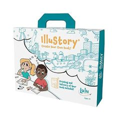 Cool gifts for tween boys (and girls): Illustory book-making kit for kids Toys For Girls, Gifts For Girls, Girl Gifts, 9 Year Old Christmas Gifts, Christmas 2019, Drawing Books For Kids, Create Your Own Book, 9 Year Old Girl, Rainbow Resource