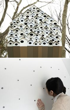 Nesting Box: Nature Center Tree House + 78-Room Bird Nest