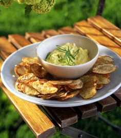 Curried veg dip- yum!