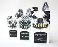 whitebites doggie snacks   25 packaging designs that practically sell themselves