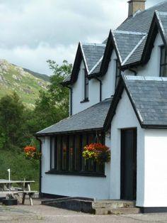 The Lochailort Inn, Lochailort, Scotland.