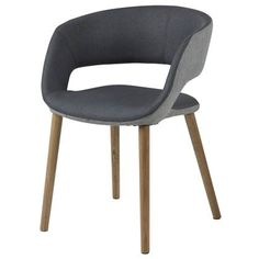 24Designs Eetkamerstoel Else - Houten Poten - Stof - Donkergrijs Dining Chairs, Dining Room, Kare Design, Furniture, Home Decor, Decoration Home, Room Decor, Dining Chair, Home Furnishings