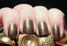 Snakeskin Stamp Nails