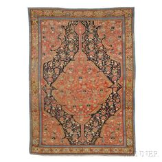 Malayer Persian Rug, Iran, late 19th century, 8 ft. x 4 ft. 9 in.   | Skinner Auctioneers Sale 2884B