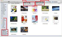 OSX Mavericks tags finder