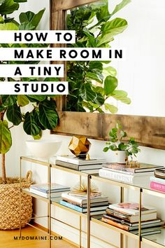 How to maximize space in a studio apartment