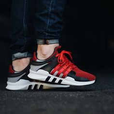 56900bce7bbe55 adidas EQT Equipment Support ADV (red   black   grey) - Free Shipping  starts at 75€
