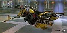 ArtStation - Hoverbike RCR1600, Vaughan Ling