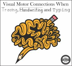 Research examining the visual motor connections in the brain comparing tracing, handwriting and typing in preschool children.