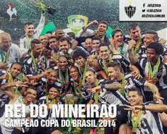 Atlético Mineiro Campeão Copa do Brasil 2014