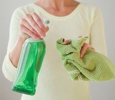 How to make natural household cleaners: 10 recipes
