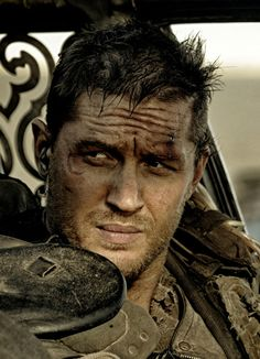 Tom Hardy - Mad Max: dirty up the face, add a scar & a bloody cut above the left eye