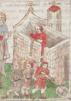 Legenden der Augsburger Heiligen Ulrich, Sintpert, Afra, Eustachius. Johannes von Indersdorf Augsburg, 1454 Cgm 751  Folio 77
