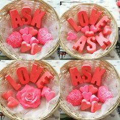 Kokulu taş #sabun #tasarım  #love #aşk