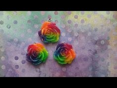 Resin Jewelry Tutorial: Using Pebeo Paints - Mixed Media - YouTube