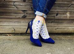 High heels and socks // szpilki i skarpetki Takapara  #takapara #high #heels…