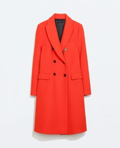 DOUBLE BREASTED COAT from Zara