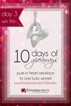 Day 3 of 10 Days of LDS Giveaways
