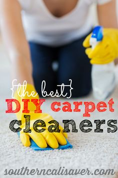 DIY Carpet Cleaning Recipes