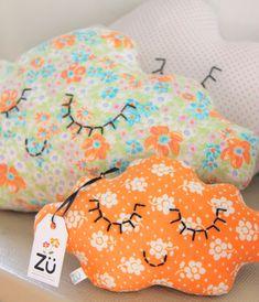 cute cloud pillows / cushions