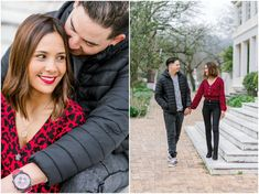Margo & Clayton | Engagement | Stellenbosch Shoot Off, Beautiful Buildings, Engagement Shoots, West Coast, Graham, The Outsiders, Things To Come, Winter Jackets, Beauty