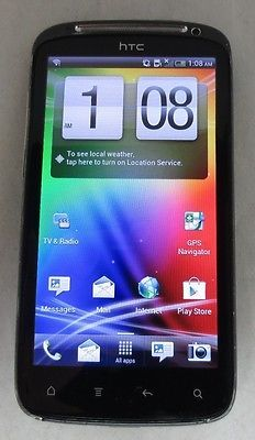 UNLOCKED HTC Sensation 4G T-Mobile Dual Core Android 8MP CLEAN ESN- Good Cond.