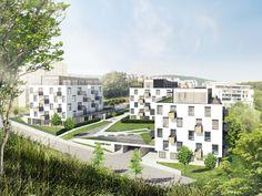 Predstavujeme vám nový komplex Záhradné vily v Dúbravke, Bratislava IV. Ideálne bývanie pre rodiny s deťmi s vlastným detským ihriskom a spoločnou záhradou. V ponuke 2, 3 a 4-izbové byty.  Kompletnú ponuku bytov nájdete TU: http://www.lexxus.sk/zahradne-vily-243949 (7)