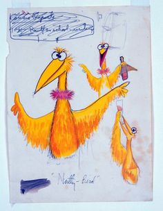 Again, mostly known for the Muppets (which are also fantastically creative), Jim Henson was also a superb sketch artist.