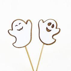 Topper P para docinhos e enfeites de mesa - fantasmas #bruxa #fantasma #topper #decoração #festa #halloween