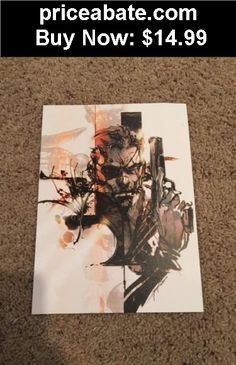 Collectibles: METAL GEAR SOLID V 8x10 Lithograph By Yoji Shinkawa - BUY IT NOW ONLY $14.99