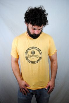 Vintage RARE Olympia Beer NWOT Tee Shirt by RogueRetro on Etsy, $38.00