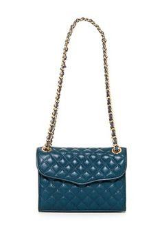 Rebecca Minkoff  Quilted Mini Affair Shoulder Bag