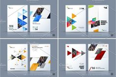 Business vector template. Brochure layout, cover modern design a. Business Infographic