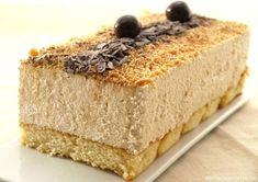 Tarta mousse de turrón - Recetas Thermomix | MisThermorecetas Dessert Sans Four, My Dessert, Dessert Recipes, Thermomix Desserts, Gateaux Cake, Pan Dulce, Xmas Food, Cakes And More, No Bake Cake
