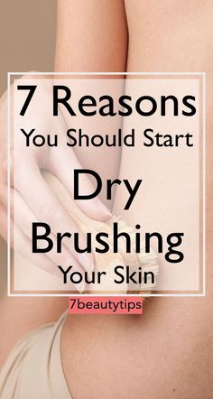 Over time, toxins and bacteria accumulate into the bloodstream, affecting skin appearance. Dry brushing can help reduce toxin buildup and unclog your pores. It also improves blood flow, increases muscle tone, and helps shed dead skin cells. Natural Hair Mask, Natural Hair Styles, Benefits Of Dry Brushing, How To Grow Eyebrows, Skin Tag Removal, Get Rid Of Blackheads, Beauty Hacks, Beauty Tips, Diy Beauty