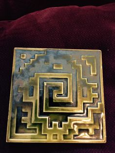 Trent tile (deco?) I found in a in an attic in the Philly burbs years ago.
